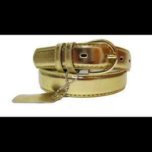 Accessories - 💫GOLD BELT with Gold Hardware 💫NWT🏷